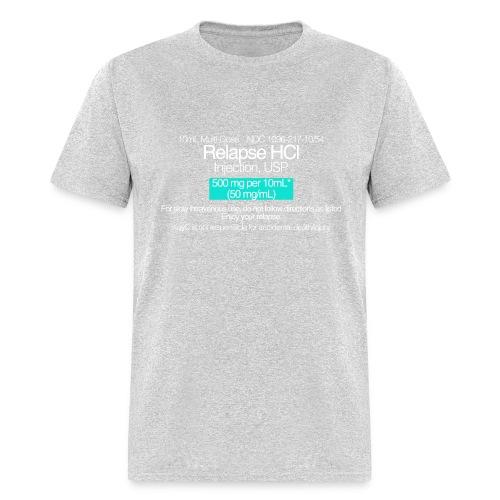Relapse // WHITE - Men's T-Shirt