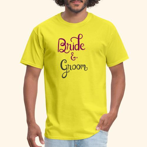 bride and groom - Men's T-Shirt