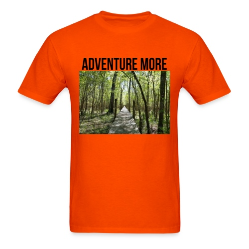 adventure more - Men's T-Shirt