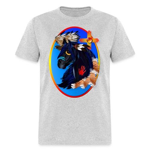 Black Stallion of Morning - Men's T-Shirt