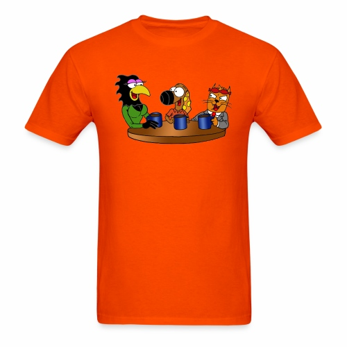 Coffee Buddies - Men's T-Shirt