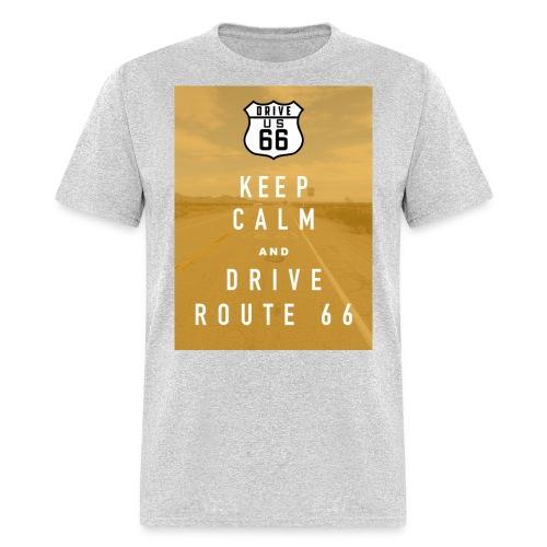 Route 66 Keep Calm T-Shirt - Men's T-Shirt
