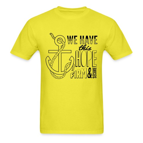 Anchor Hope final - Men's T-Shirt
