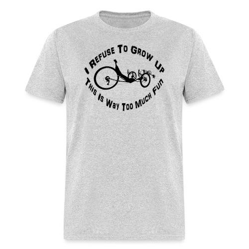 Refuse (black) - Men's T-Shirt