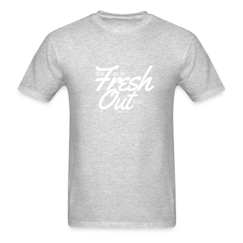 Fresh Out Beats Logo 24 - Men's T-Shirt