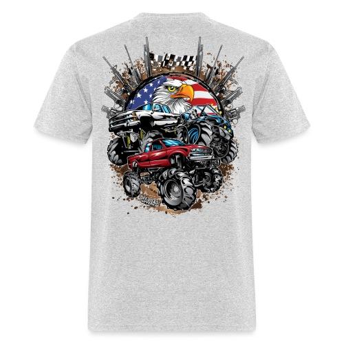 Mega Mud Trucks USA - Men's T-Shirt