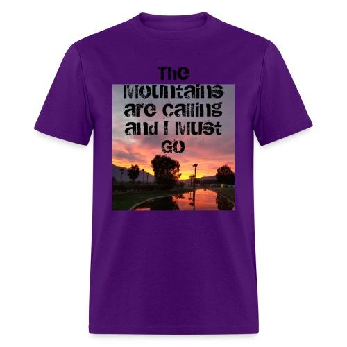 mountains - Men's T-Shirt