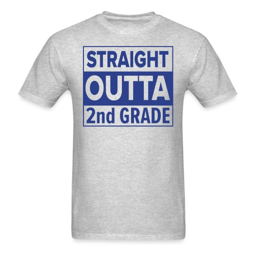 straightoutta 2nd - Men's T-Shirt