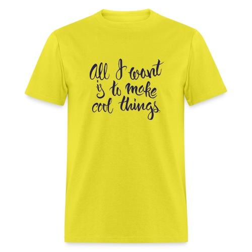 Cool Things Navy - Men's T-Shirt