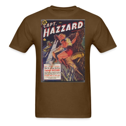 capthazzardsmaller - Men's T-Shirt