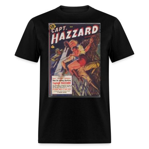 capthazzardsmaller - Men's T-Shirt