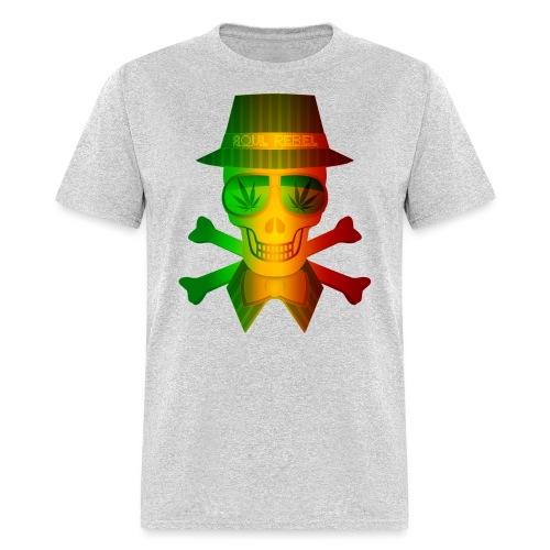 Rasta Man Rebel - Men's T-Shirt
