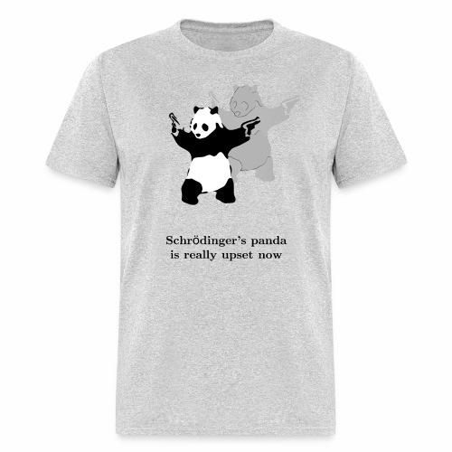 Schrödinger's panda is really upset now - Men's T-Shirt