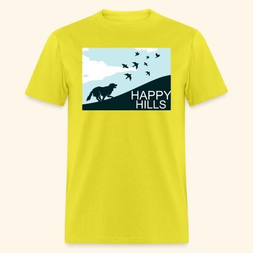 Happy hills - Men's T-Shirt