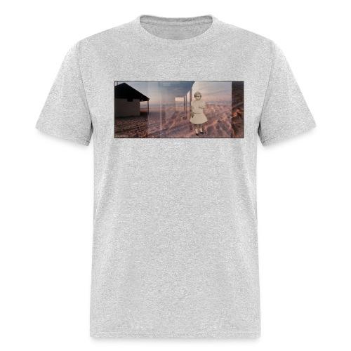 Original Art T-shirt  The Beach by Mike Guarino - Men's T-Shirt