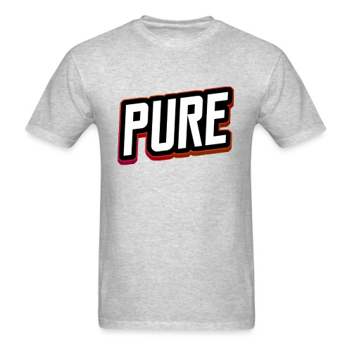 pure logo 2 - Men's T-Shirt