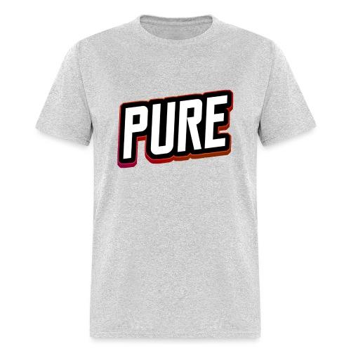 pure logo 2 - Men's T-Shirt