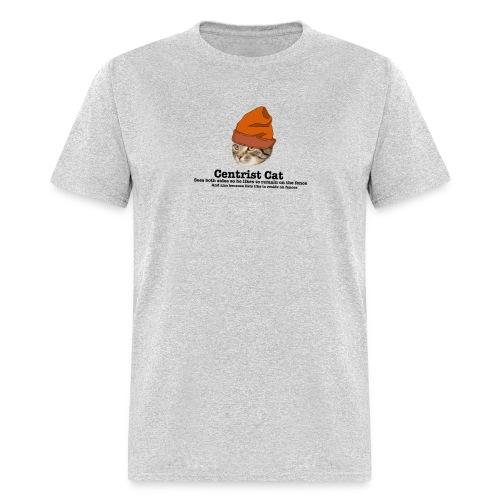 Hipster Centrist Cat - Men's T-Shirt