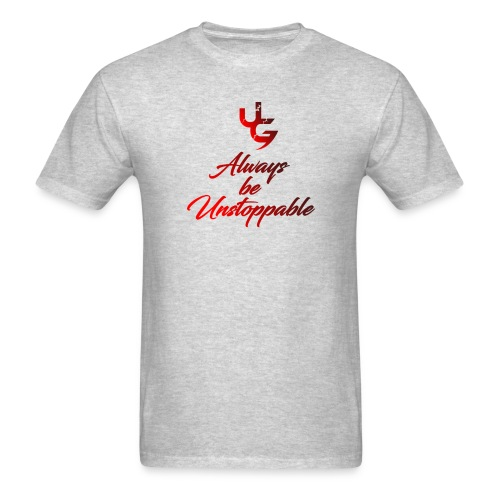 UG Always be unstoppable Faded red - Men's T-Shirt