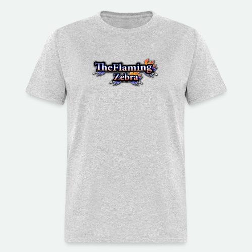 BIG TheFlamingZebra Logo - Men's T-Shirt