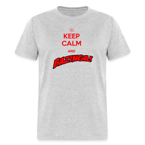 keepcalm bazinga red - Men's T-Shirt