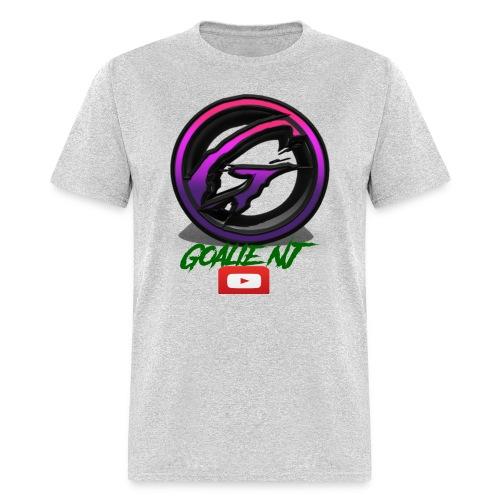 goalie nj logo - Men's T-Shirt