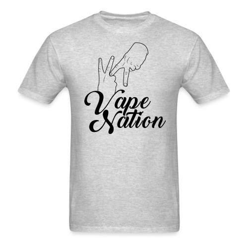 Vape Nation black - Men's T-Shirt