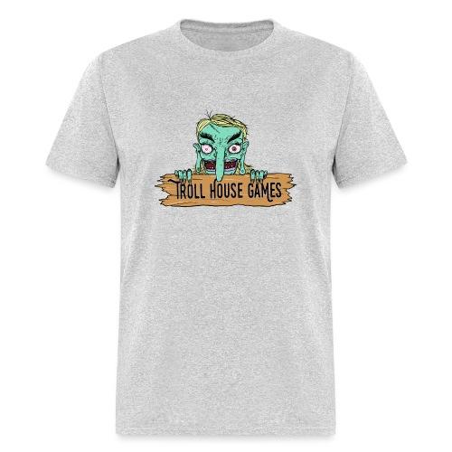 Troll House Games Cartoon Logo - Men's T-Shirt