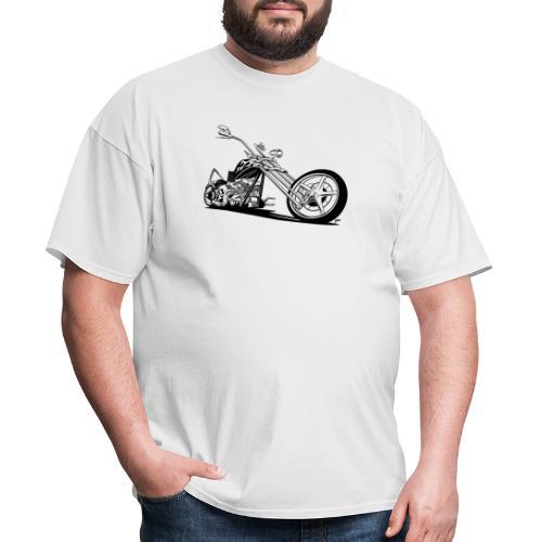 Custom American Chopper Motorcycle - Men's T-Shirt