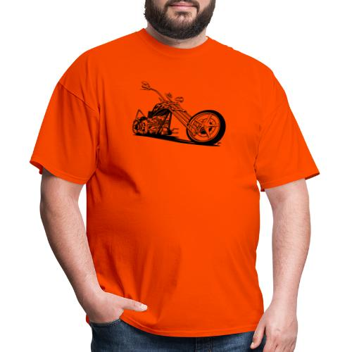 Custom American Chopper Motorcycle - Men's T-Shirt