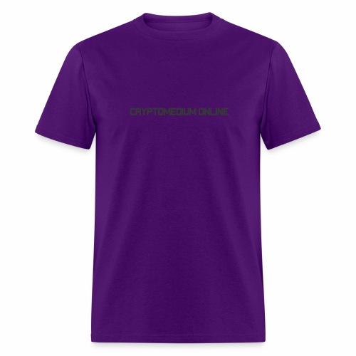 Cryptomedium logo dark - Men's T-Shirt