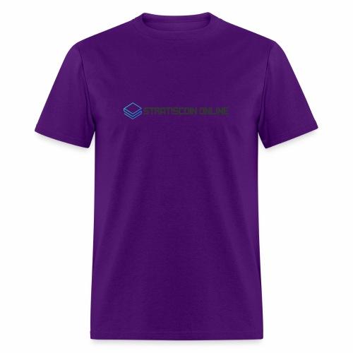 stratiscoin online dark - Men's T-Shirt