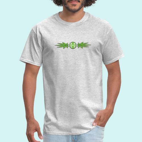 Medicated weed band cut shadow - Men's T-Shirt