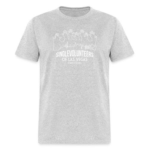 White logo SVLV - Men's T-Shirt