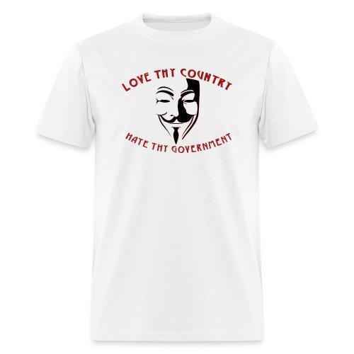 love thy country - Men's T-Shirt