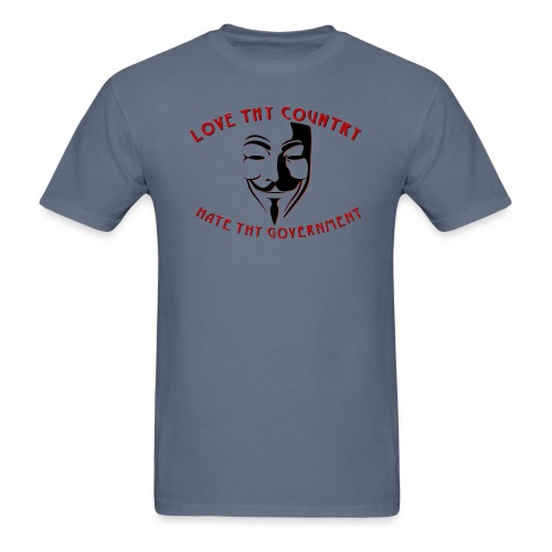 love thy country - Men's T-Shirt