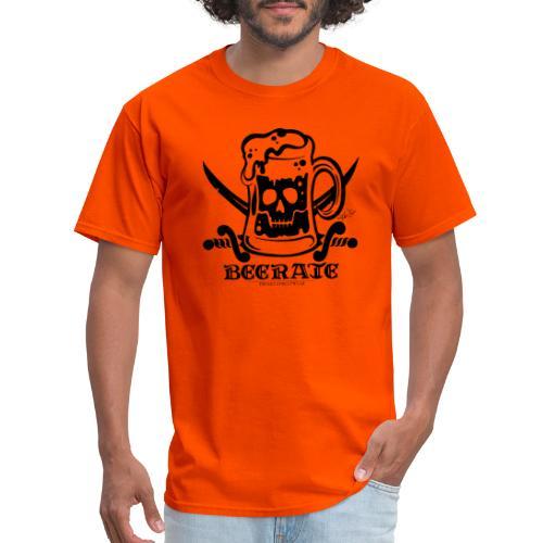 Beerate - black - Men's T-Shirt