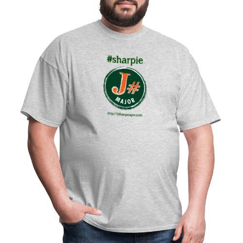 J#Major #sharpie - Men's T-Shirt