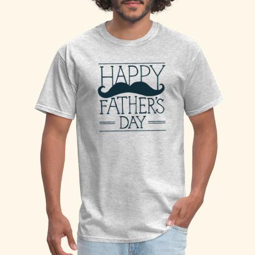 Fathers Day Mustache Design - Men's T-Shirt