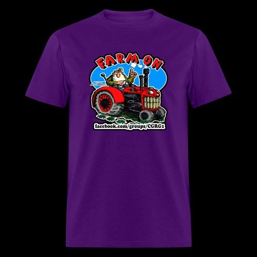 Mr Natural Farm On - Men's T-Shirt