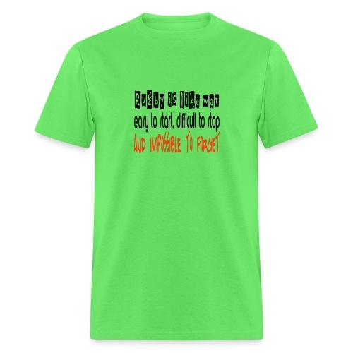 Rugby like war - Men's T-Shirt