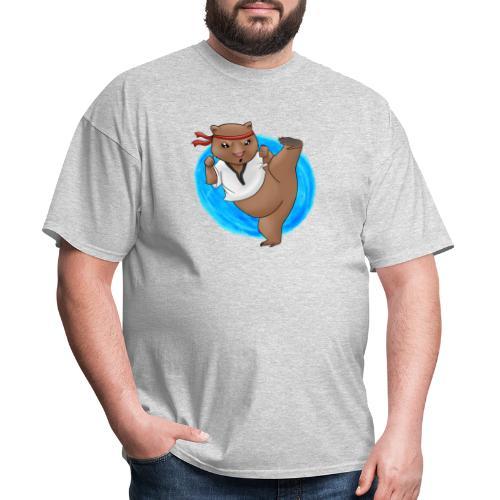 Wombat in Action - Men's T-Shirt