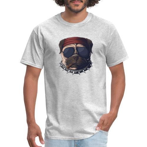 Dog head smoke - Men's T-Shirt
