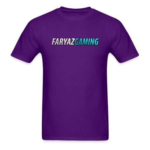 FaryazGaming Theme Text - Men's T-Shirt