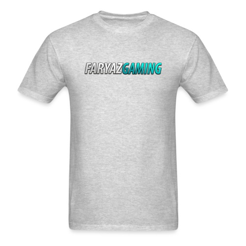 FaryazGaming Theme Text - Men's T-Shirt