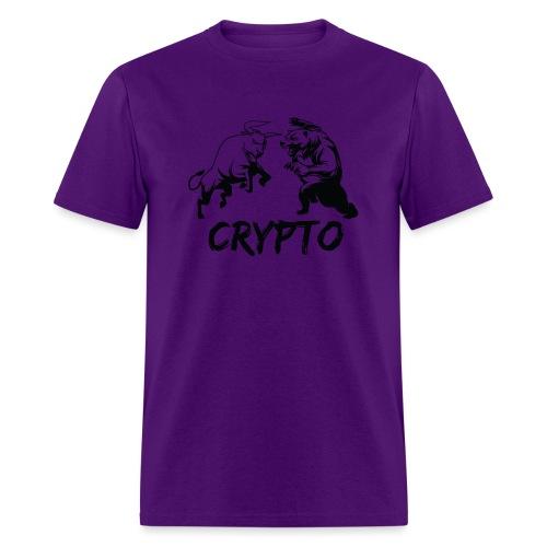 CryptoBattle Black - Men's T-Shirt