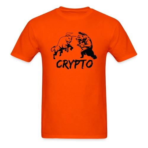 CryptoBattle Black - Men's T-Shirt