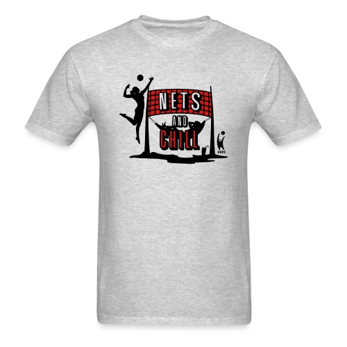 Nets And Chill Volleyball Team 2019 - Men's T-Shirt