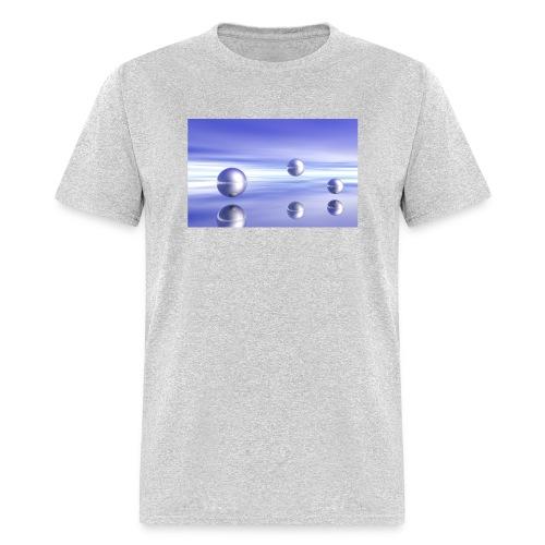 Ball Landscape in 3D - Men's T-Shirt