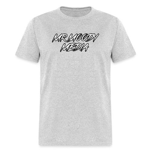 MrMoody Media Sticker! - Men's T-Shirt
